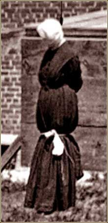 Mary Surratt hanged 2